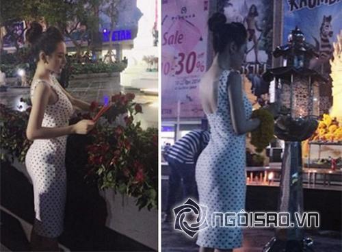 Angela Phương Trinh được khen ngợi 'tấm tắc' khi mặc kín đáo đi lễ chùa - Ảnh 1