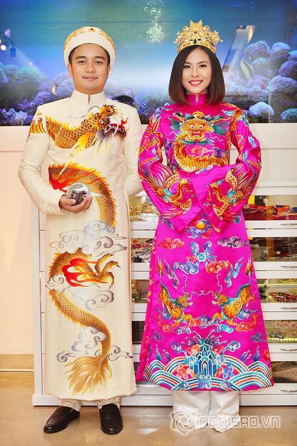 Vợ chồng Vân Trang lái xế hộp tiền tỷ đi thử trang phục cưới 6