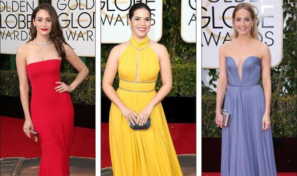 Dàn mỹ nhân Hollywood lộng lẫy trên thảm đỏ Quả cầu vàng 2016 1