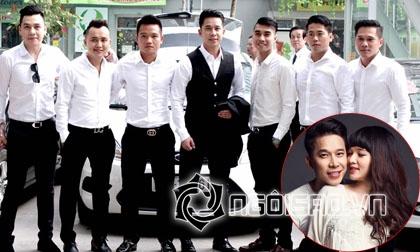 Lê Hoàng The Men, tiệc thôi nôi của con trai Lê Hoàng, sao Việt