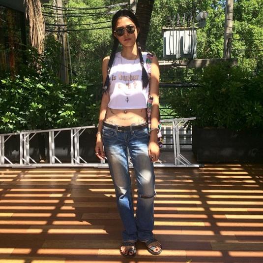 Loạt mỹ nhân Thái khoe hình xăm 'độc' trên cơ thể gợi cảm 0