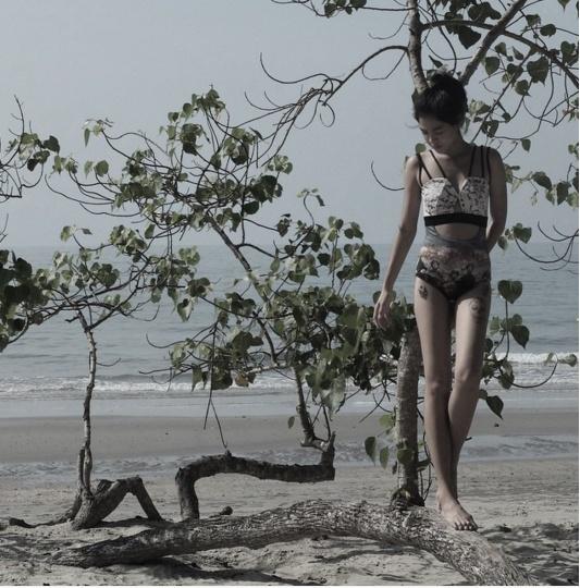 Loạt mỹ nhân Thái khoe hình xăm 'độc' trên cơ thể gợi cảm 22
