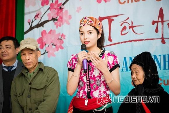 Hoa hậu Việt đi từ thiện 5