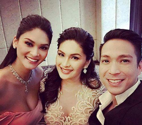 Tân Hoa hậu Hoàn vũ bất ngờ làm phù dâu trong đám cưới bạn thân 0