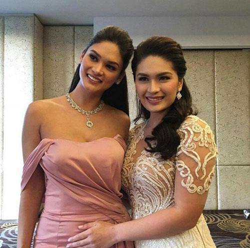 Tân Hoa hậu Hoàn vũ bất ngờ làm phù dâu trong đám cưới bạn thân 3