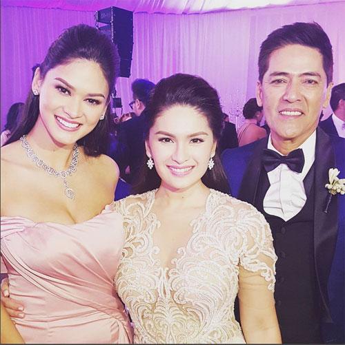 Tân Hoa hậu Hoàn vũ bất ngờ làm phù dâu trong đám cưới bạn thân 4