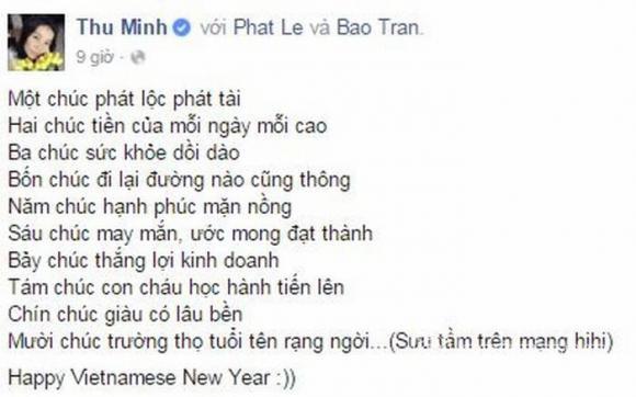 chúc mừng năm mới, sao việt chúc mừng năm mới, sao việt