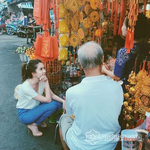 Thời trang đẹp mắt của sao Việt ngày đầu năm  17