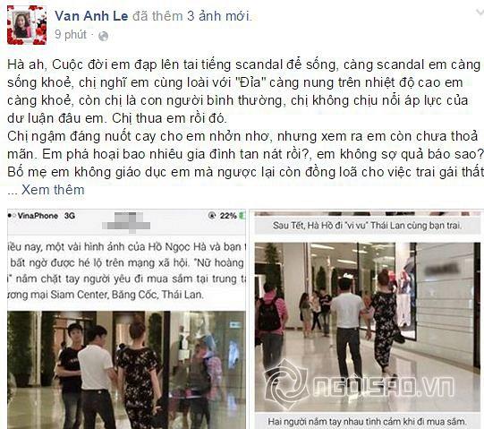 vợ đại gia Chu Đăng Khoa đóng facebook 3