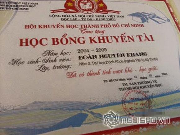 Sao Việt và những lần khoe giấy khen đáng ngưỡng mộ 16