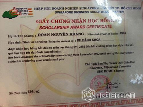 Sao Việt và những lần khoe giấy khen đáng ngưỡng mộ 15