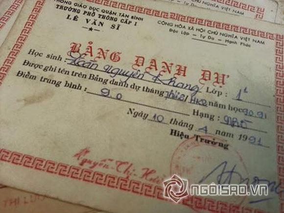 Sao Việt và những lần khoe giấy khen đáng ngưỡng mộ 6