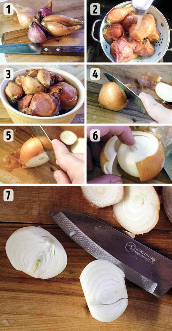 mẹo hay trong bếp, cắt gọt hoa quả nhanh, mẹo loại bỏ vỏ hoa quả