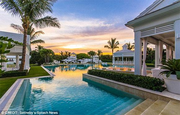 celine dion 6 ngoisao.vn Siêu biệt thự trị giá 1 nghìn tỷ đồng được Celine Dion đăng bán sau khi chồng qua đời