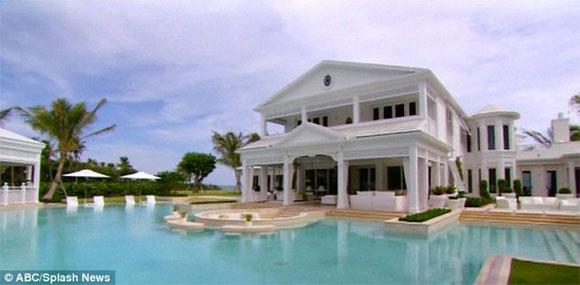 celine dion ngoisao.vn Siêu biệt thự trị giá 1 nghìn tỷ đồng được Celine Dion đăng bán sau khi chồng qua đời