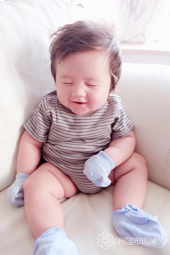 Con trai Elly Trần, Afie Túc Mạch, Elly Trần, sao việt, Con trai Elly Trần nhuộm tóc
