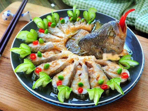 cá hấp hành gừng, cách làm cá hấp hành gừng, món ngon từ cá