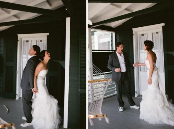 lần đầu thấy vợ mặc áo cưới 1