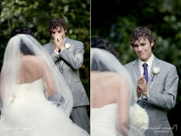 lần đầu thấy vợ mặc áo cưới 2