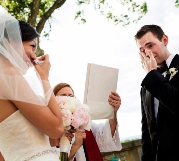 lần đầu thấy vợ mặc áo cưới 12