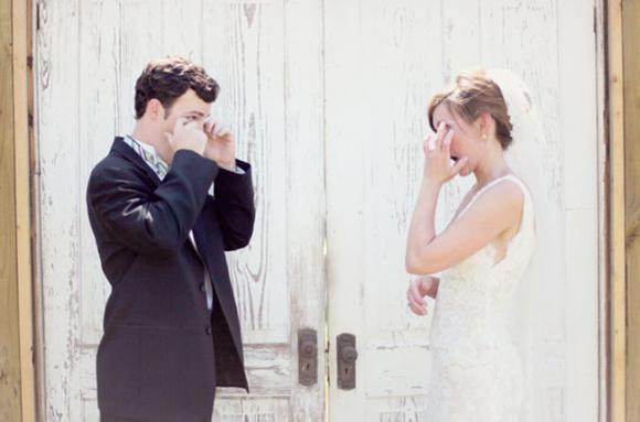 lần đầu thấy vợ mặc áo cưới 13