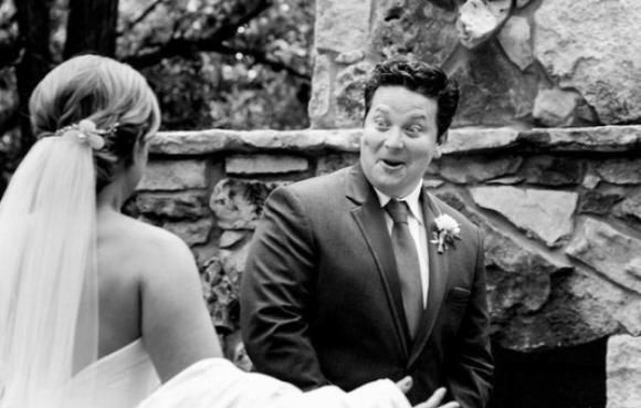 lần đầu thấy vợ mặc áo cưới 4