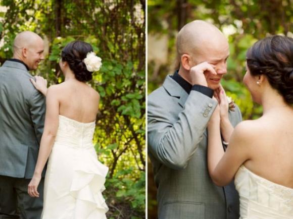 lần đầu thấy vợ mặc áo cưới 5