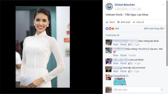 Lan Khuê vượt mặt Phạm Hương trong bảng đánh giá sắc đẹp của Global Beauties 12
