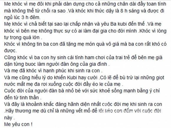 Khánh Thi lần đầu tiết lộ ảnh con trai lúc mới chào đời 13