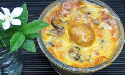 chả trứng,  món ngon từ trứng, công thức làm chả trứng