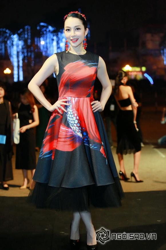 Mỹ nhân Việt trên thảm đỏ thời trang 4