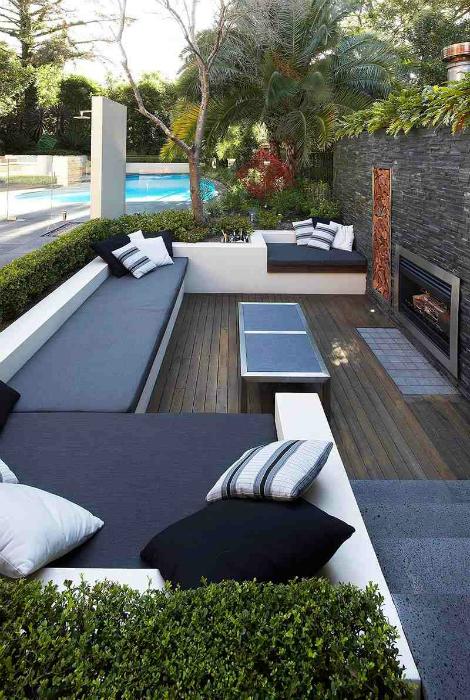 thiet ke goc san 10 ngoisao.vn Chia sẻ 17 ý tưởng tuyệt vời thiết kế góc sân xanh trong nhà
