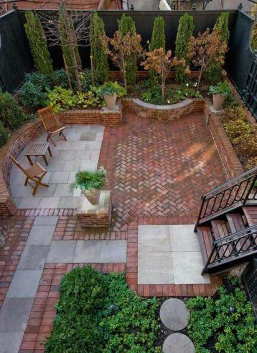 thiet ke goc san 11 ngoisao.vn Chia sẻ 17 ý tưởng tuyệt vời thiết kế góc sân xanh trong nhà