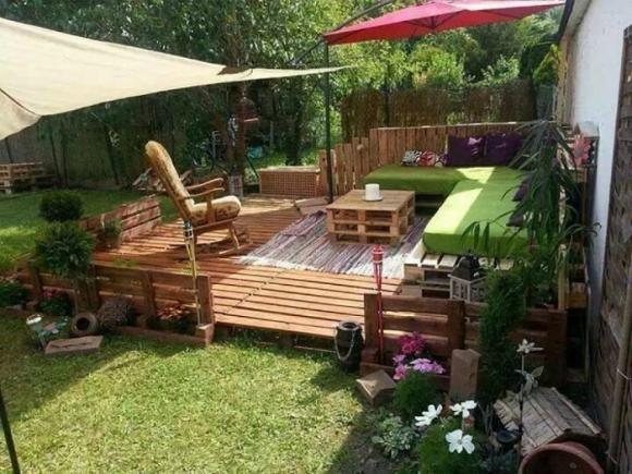 thiet ke goc san 12 ngoisao.vn Chia sẻ 17 ý tưởng tuyệt vời thiết kế góc sân xanh trong nhà
