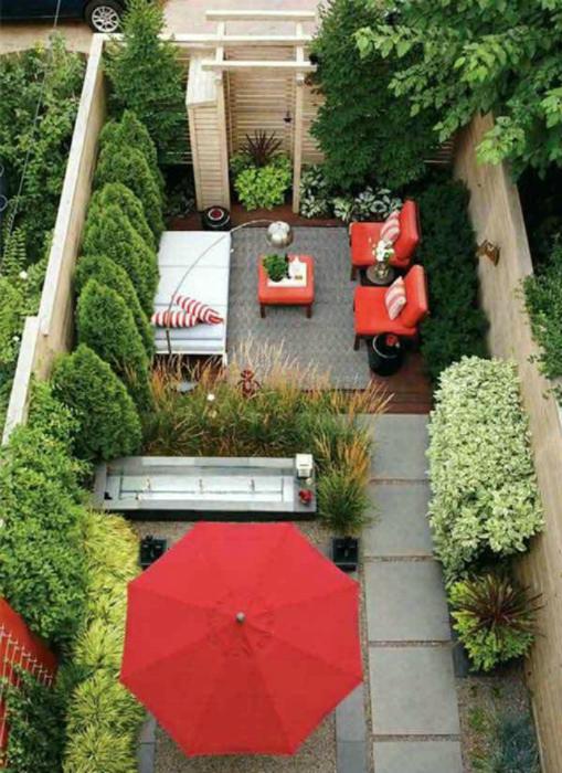 thiet ke goc san 13 ngoisao.vn Chia sẻ 17 ý tưởng tuyệt vời thiết kế góc sân xanh trong nhà