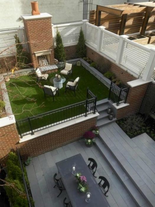 thiet ke goc san 16 ngoisao.vn Chia sẻ 17 ý tưởng tuyệt vời thiết kế góc sân xanh trong nhà