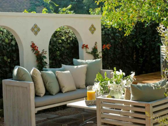 thiet ke goc san 17 ngoisao.vn Chia sẻ 17 ý tưởng tuyệt vời thiết kế góc sân xanh trong nhà
