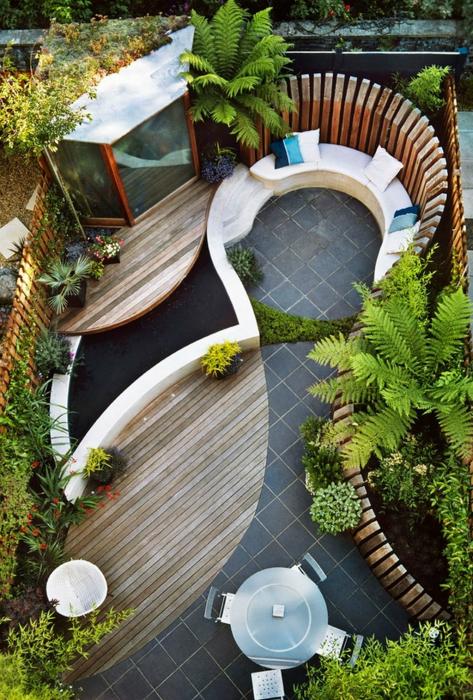 thiet ke goc san 3 ngoisao.vn Chia sẻ 17 ý tưởng tuyệt vời thiết kế góc sân xanh trong nhà