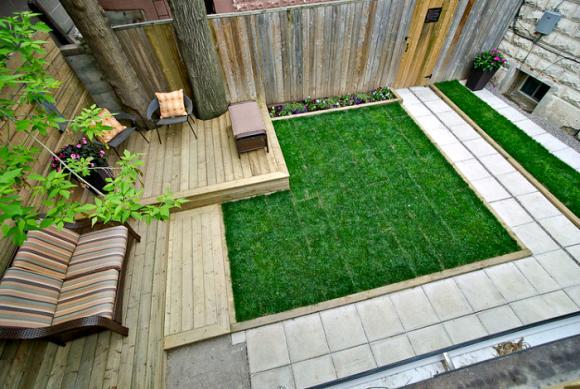 thiet ke goc san 4 ngoisao.vn Chia sẻ 17 ý tưởng tuyệt vời thiết kế góc sân xanh trong nhà