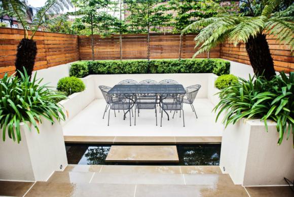 thiet ke goc san 5 ngoisao.vn Chia sẻ 17 ý tưởng tuyệt vời thiết kế góc sân xanh trong nhà
