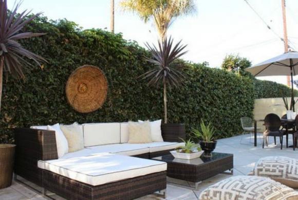 thiet ke goc san 9 ngoisao.vn Chia sẻ 17 ý tưởng tuyệt vời thiết kế góc sân xanh trong nhà