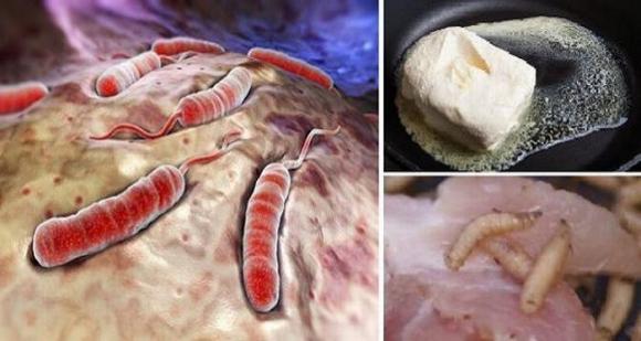 thực phẩm, thực phẩm quen thuộc, thực phẩm độc hại