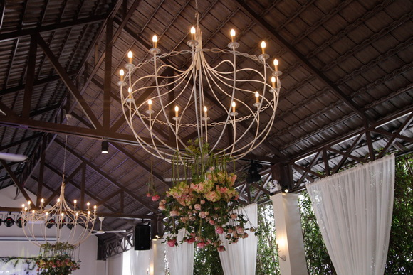 Tiệc cưới mang phong cách Pháp, Khu vườn Le Jardin, Le Jardin Sài Gòn