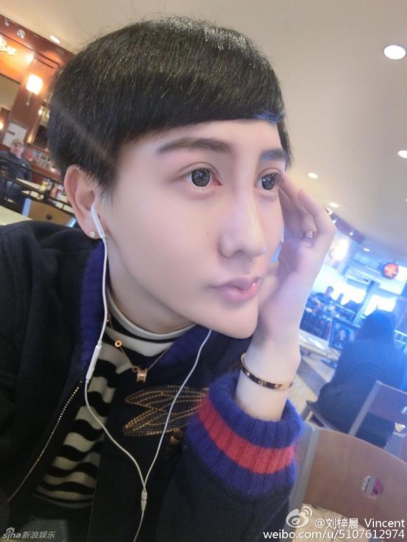 chàng trai mặt rắn, Liu Zichen, thảm họa thẩm mỹ