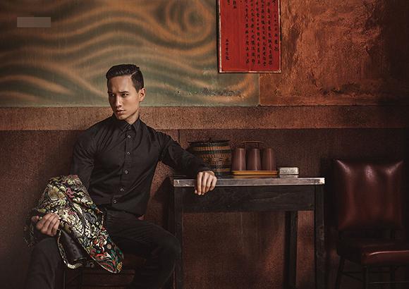 Kim Lý khoe vẻ điển trai trên tạp chí thời trang số 1 Myanmar 1