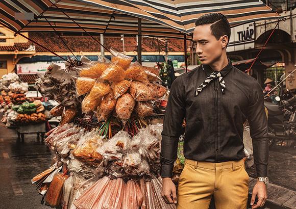Kim Lý khoe vẻ điển trai trên tạp chí thời trang số 1 Myanmar 2