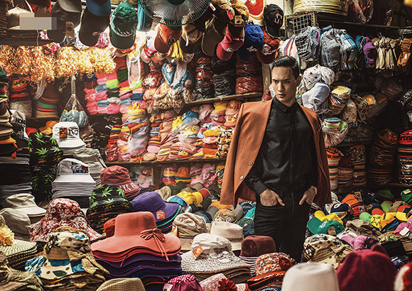 Kim Lý khoe vẻ điển trai trên tạp chí thời trang số 1 Myanmar 3
