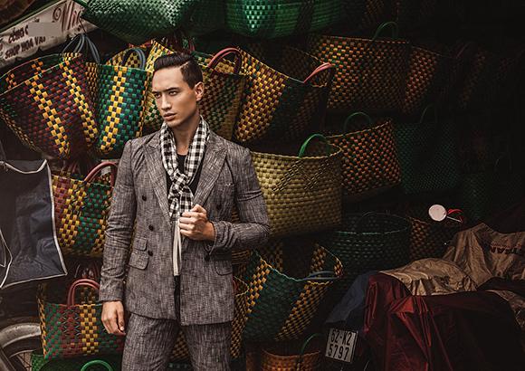 Kim Lý khoe vẻ điển trai trên tạp chí thời trang số 1 Myanmar 4