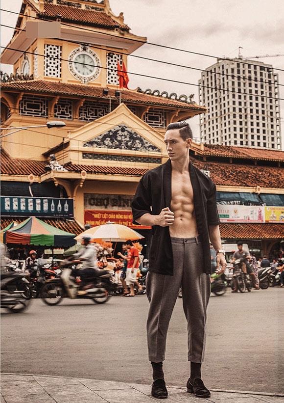 Kim Lý khoe vẻ điển trai trên tạp chí thời trang số 1 Myanmar 6