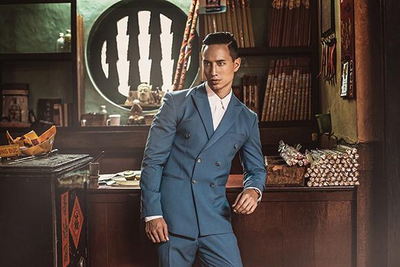 Kim Lý khoe vẻ điển trai trên tạp chí thời trang số 1 Myanmar 8